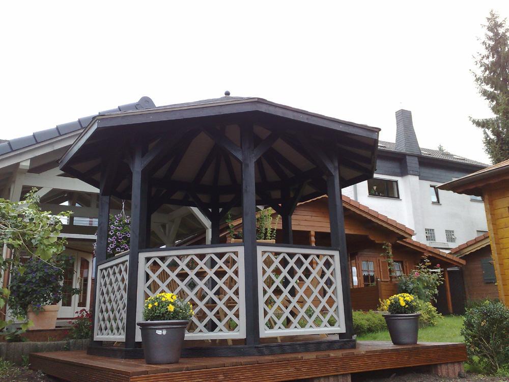 8 eck pavillon berdachung karst holzhaus. Black Bedroom Furniture Sets. Home Design Ideas