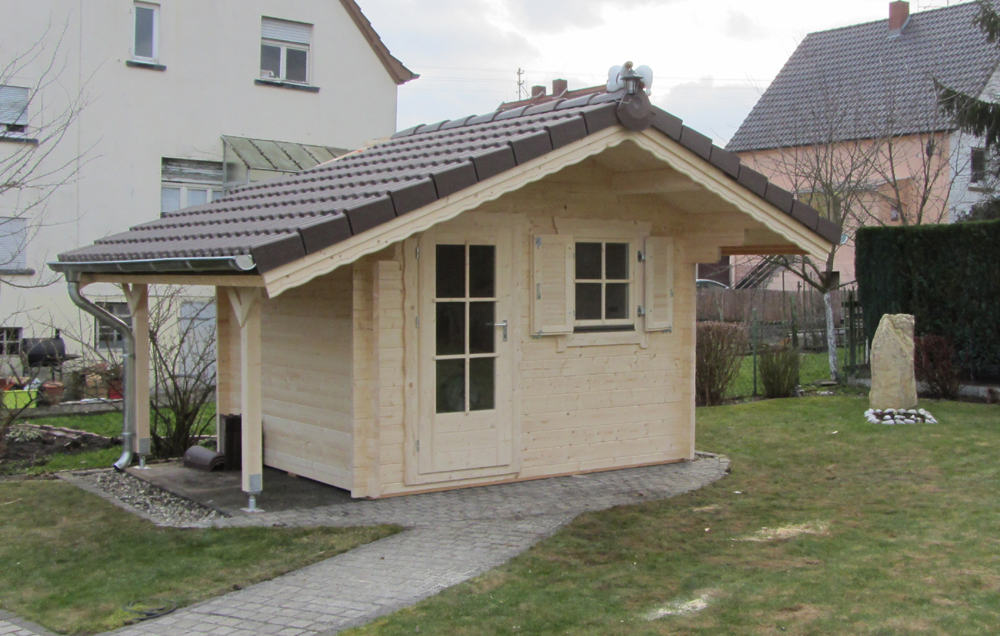 blockhaus typ 7 3 00 m x 2 50 m 17 cbm rauminhalt. Black Bedroom Furniture Sets. Home Design Ideas