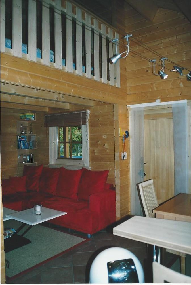 blockhaus ca 80 qm mit empore nach kundenwunsch karst holzhaus. Black Bedroom Furniture Sets. Home Design Ideas